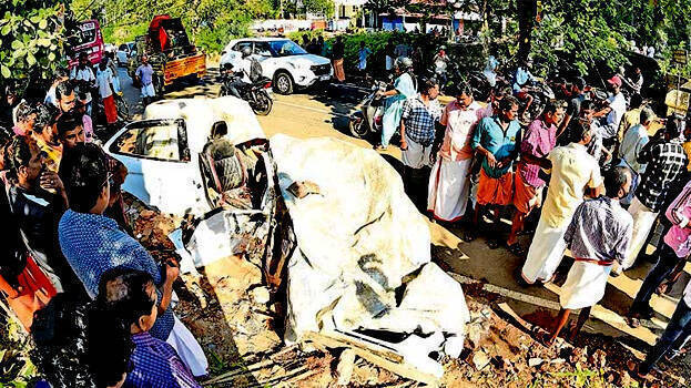 vaikom-accident