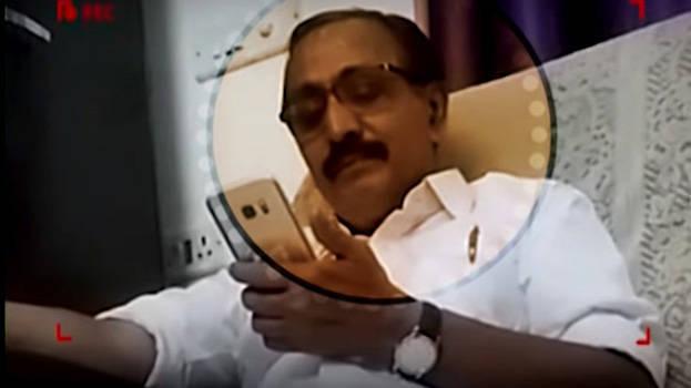 Sound in video is that of M K Raghavan, it is difficult to