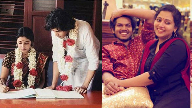 Wishes Pour In As Anu Sithara Shares Wedding Pic On Her