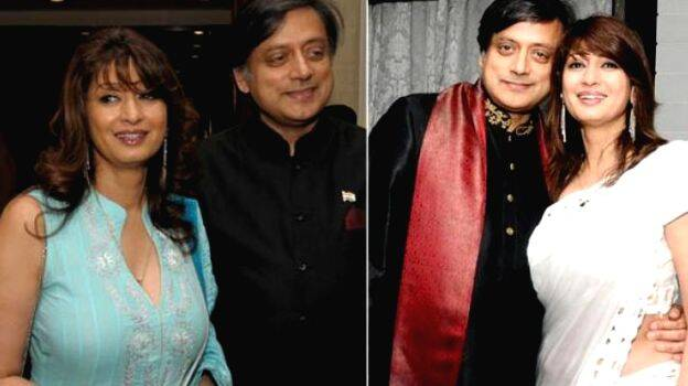 from her early days to years with tharoor sunanda pushkar. Black Bedroom Furniture Sets. Home Design Ideas