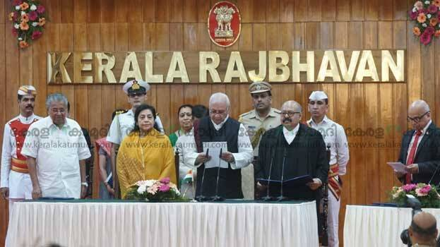 Arif Mohammad Khan sworn in Kerala Governor, takes oath in