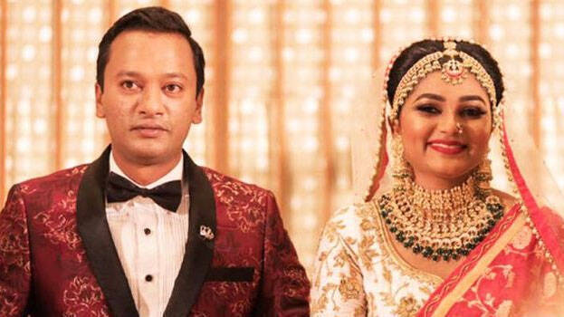 Actor Krishna Wedding Reception Photos - FilmiBeat
