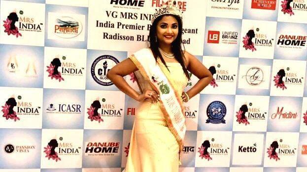 Angella Melel Emerges Winner Of Vg Mrs India Global 2019 Lifestyle General Kerala Kaumudi Online