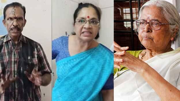 Let There Be More Women Like Bhagyalakshmi She Slapped Vijay P Nair As Our Representative Sugathakumari Renders Support Kerala General Kerala Kaumudi Online